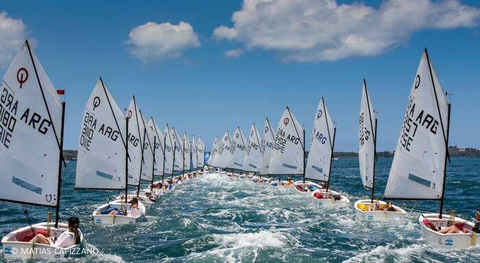 OptiNAM 2013, Bermuda (Optimist Class) by Matias Capizzano