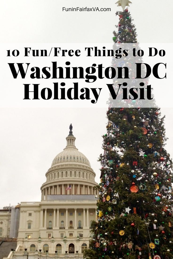 Washington DC Holiday Travel. Annual events offer a wealth of fun and free things to do on a Washington DC holiday visit, for a happy start to winter in and near the nation's capital. #holiday #washingtondc