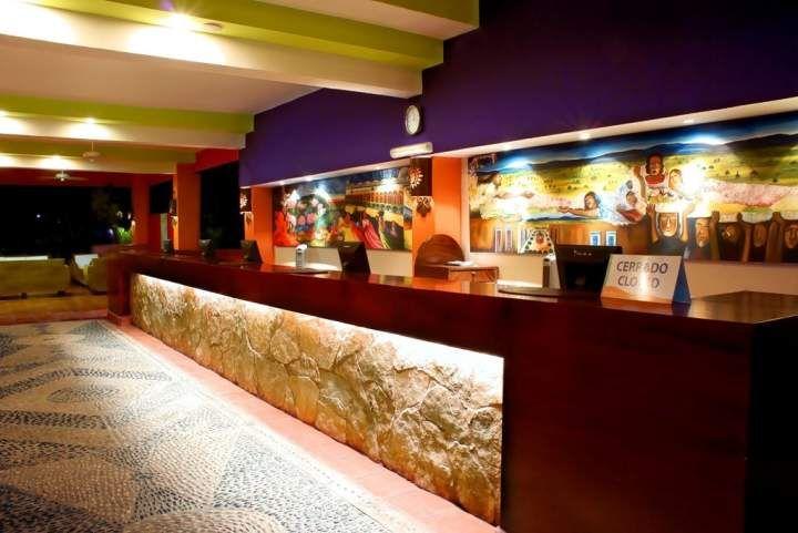Lobby Royal Decameron Complex ubicado en Bucerías