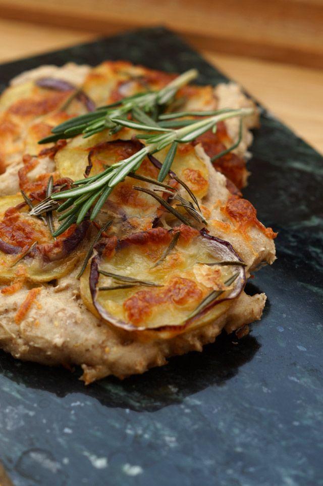 Kartoffel rosmarin brød