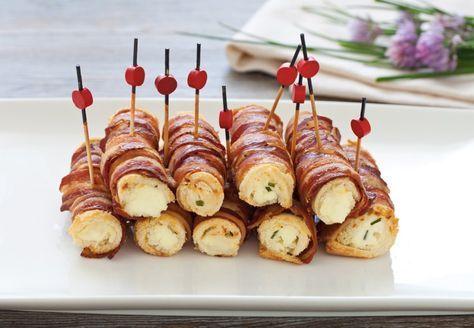 Questi cannoncini di pancarrè alla pancetta sono l'ideale per un aperitivo finger food appagante e originale. Prova la ricetta del Cucchiaio d'Argento!