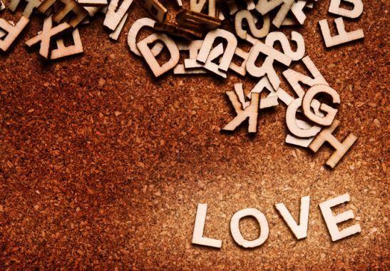 Lettere di legno - Lettere di legno 15 cm