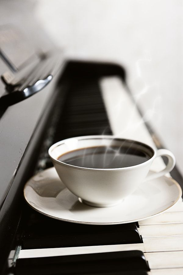 канцелярия кофе с музыкой картинки вазе, где