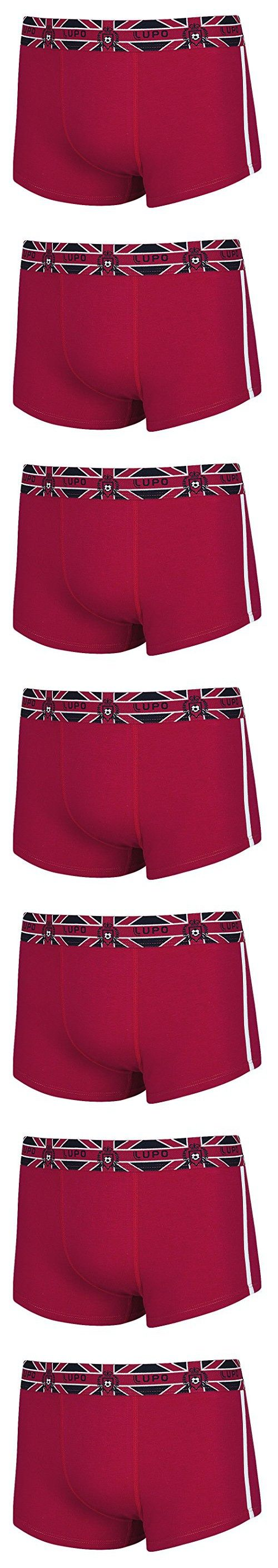 Lupo Men's Support Your Country Soccer Sunga Trunks, Medium, England Red