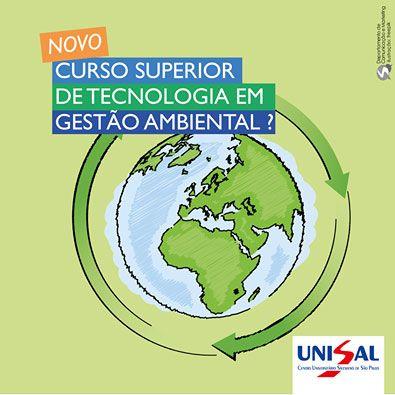 Tecnologia em Gestão Ambiental: novo Curso do UNISAL Americana: ...