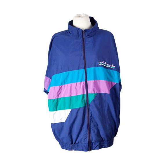 Vintage Adidas Windbreaker from the 80s