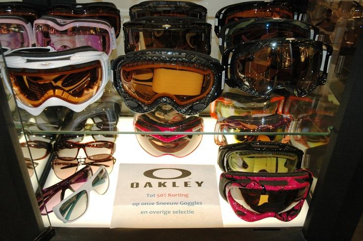 Oakley goggles 50% korting  Van Daalen Optiek