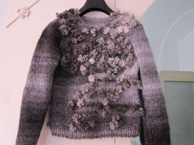 Handmade sweater.