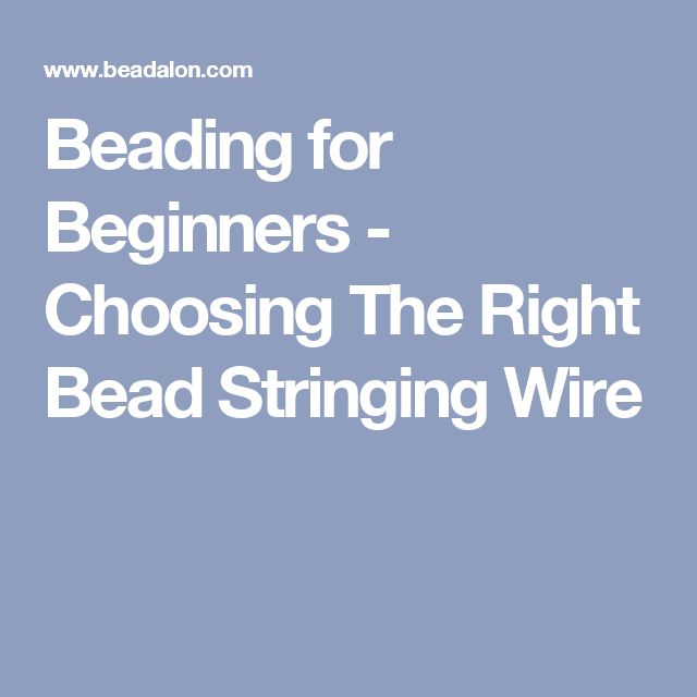 12 best Use wire, thread or cord images on Pinterest | Jewellery ...
