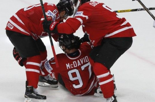 Сборная Канады стала чемпионом мира по хоккею— 26-й раз в истории (ВИДЕО)