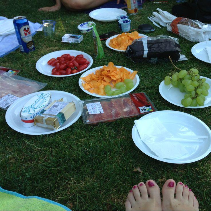 Picknick mit de beschtä