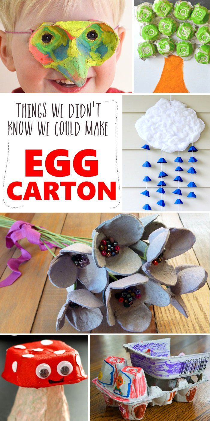 20 things you can do with an egg carton eggs house and for Things to make with egg boxes