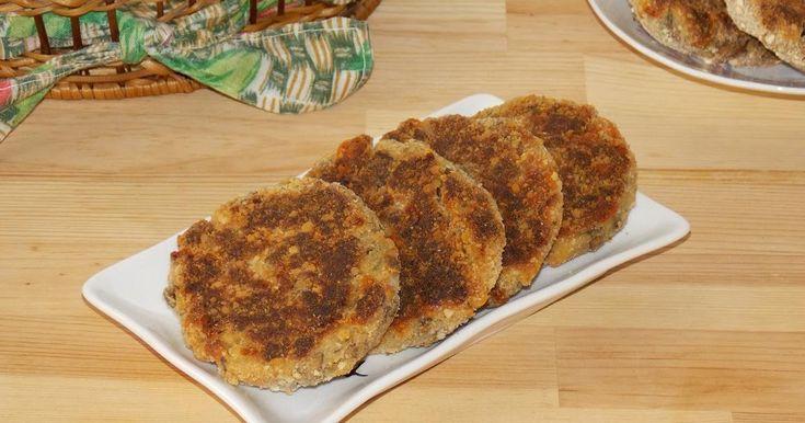 Chiftele de ciuperci cu cartofi si cascaval, chiftele de legume cu cascaval
