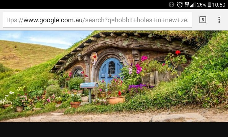 This was my favourite hobbit hole in Hobbiton.