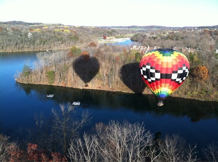 Hot Air Balloon Ride From Eagle Ridge Resort Amp Spa Over