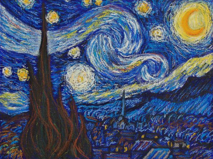 1000+ images about Ölpastell on Pinterest   Starry nights, Art oil ...
