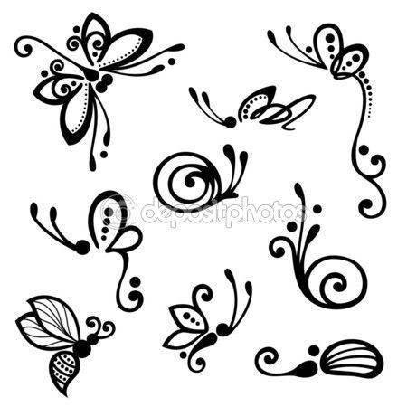 butterfly nailart..