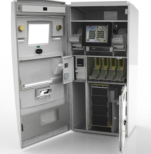 inside an atm machine