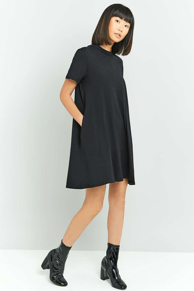 Minimal dress for spring and summer