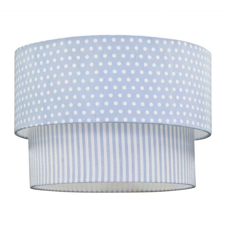 Punkte und Streifen hellblau Deckenleuchte scandictoys 601834   Lampe, Lampenschirm, Lampen ...
