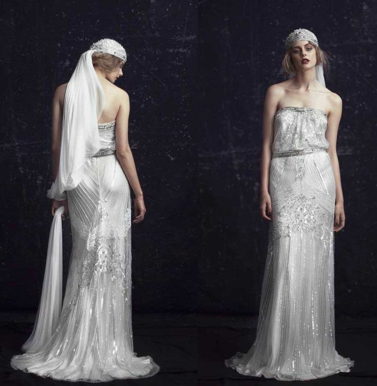 1920s wedding gowns be a 1920 s gatsby style bride for The great gatsby wedding dresses