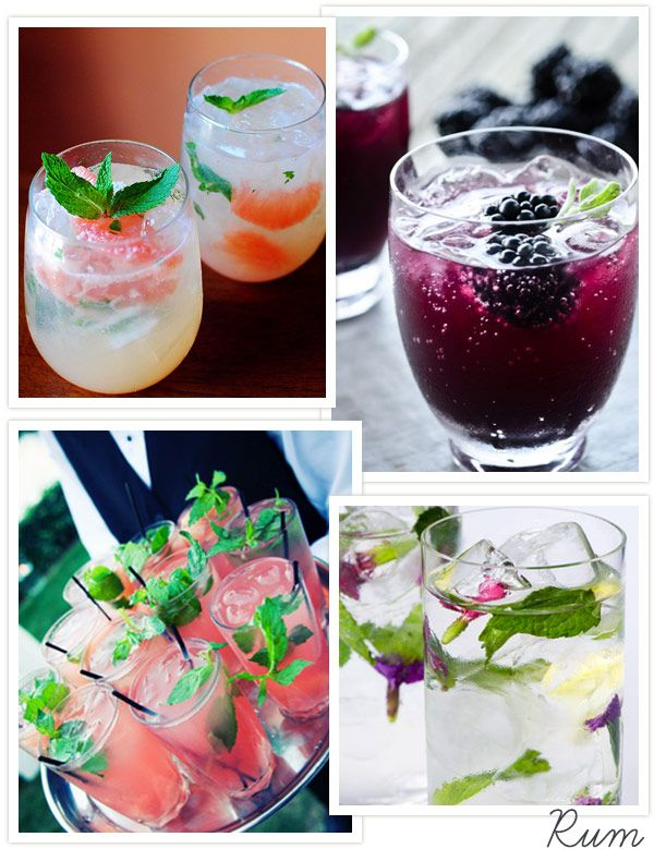 Rum Wedding Cocktails