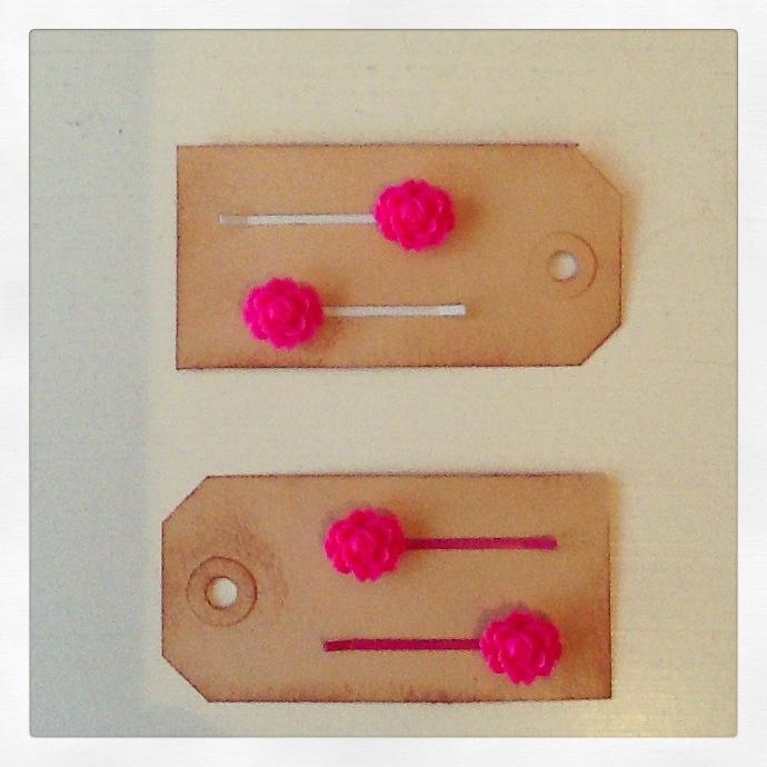 Roze schuifspeldjes