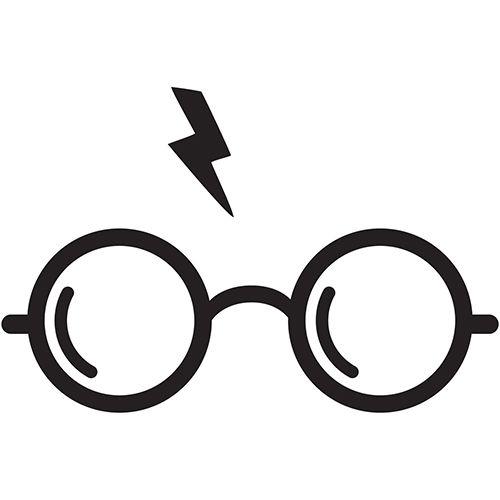 8ea95599fb76b Harry Potter Glasses Laptop Car Truck Vinyl Decal Window Sticker PV458    Characters   Harry potter stencils, Harry potter decal, Cricut