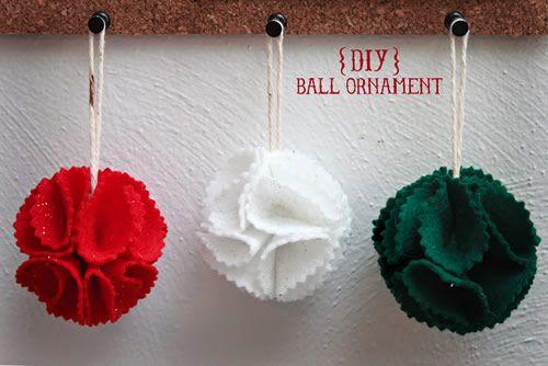 Decorazioni per l'albero di Natale fai-da-te: palline con ritagli di carta o…