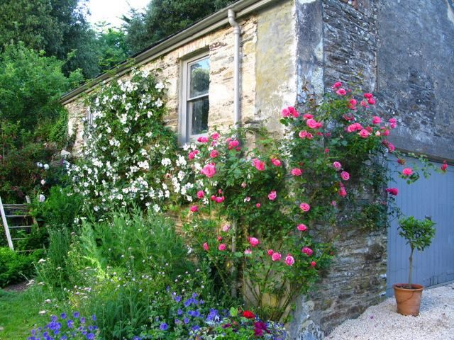 Best Garden Dreams  House  Garden Images On Pinterest - House garden with flowers
