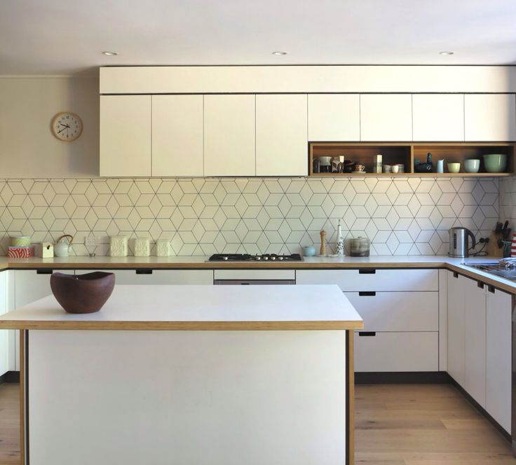 Cantilever interiors kitchen- Kew house.