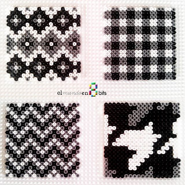 Coasters hama beads by elmundoen8bits                                                                                                                                                                                 More