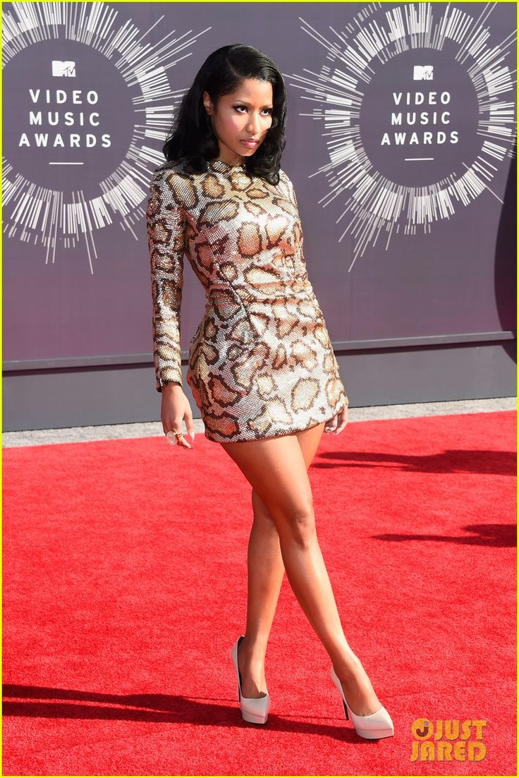 nicki minaj channels her inner anaconda at mtv vmas 2014 05 Nicki Minaj is all about snakeskin on the red carpet at the 2014 MTV Video Music Awards held at The Forum on Sunday (August 24) in Inglewood, Calif.    The 31-year-old…