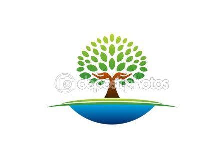 Tree hand logo, natural hands tree wellness icon, yoga health care symbol vector design #tree #hand #logo #natural #hands wellness icon #yoga #health #care #symbol #vector #design #graphic #stock #shape http://depositphotos.com?ref=3904401