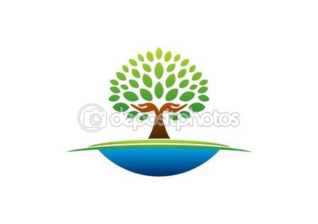 Tree hand logo, natural hands tree wellness icon, yoga health care symbol vector design #tree #hand #logo #natural #hands wellness icon #yoga #health #care #symbol #vector #design #graphic #stock #shape http://depositphotos.com?ref=3904401