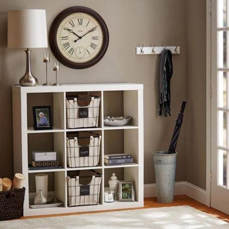 Get your home organized with this Better Homes and Gardens 9-Cube Organizer. Featuring multiple square openings, this versatile organizer will help you create the extra storage space you need. This Be