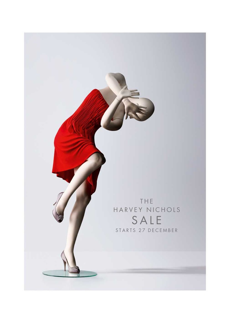 Harvey nichols sale ad ads pinterest harvey nichols for Poster prints for sale
