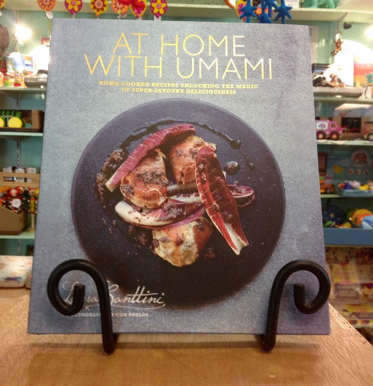 At Home With Umami - cook book.  Beautifully illustrated!
