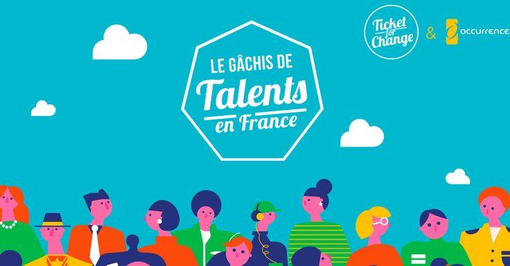 D'après une étude publiée par l'association Ticket for change 74% des Français n'expriment pas leur(s) talent(s). Un chiffre incroyablement haut, qui exprime l'écart qui existe entre les Français qui ont envie d'agir et ceux qui agissent réellement.