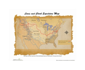 25 best ideas about lewis and clark map on pinterest lewis and clark make a map and the. Black Bedroom Furniture Sets. Home Design Ideas