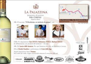 #gavi  #nelcortile  #lapalazzina  #chefstellati #buoncibo #ottimovino #magiaedesideri  http://www.periodicodaily.com/2015/08/25/nel-cortile-la-palazzina-chef-stellati/