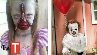 10 EPIC Kids Costume Ideas For Halloween (Pennywise from IT movie Pablo Escobar Wonder Woman)