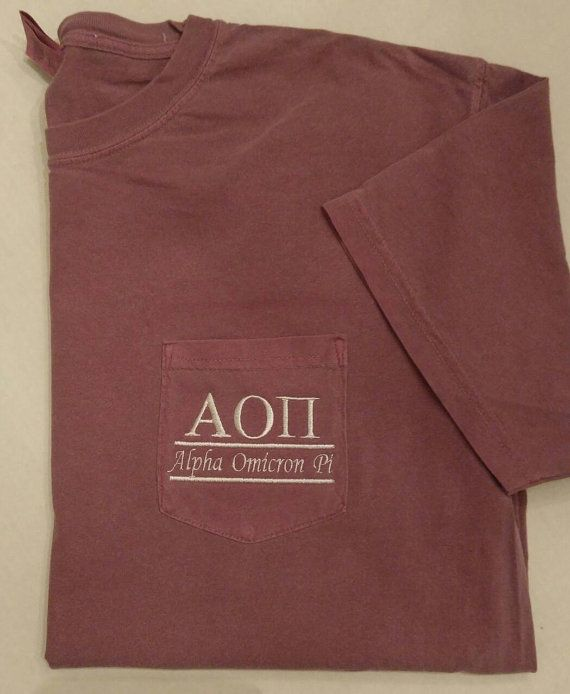 Check out this item in my Etsy shop https://www.etsy.com/listing/473434378/sorority-shirts-alpha-omicron-pi-aopi