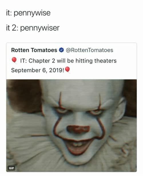 20 It Chapter 2 Memes Viral Now Memes Chapter Animal Memes