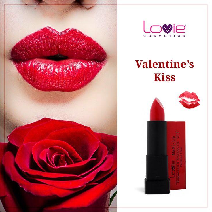 Eσείς ποια απόχρωση θα επιλέξετε για την ημέρα του Αγίου Βαλεντίνου; http://www.lovie.gr/kragion-lovie/maxi-lipstick-lovie #lovie #cosmetics #valentinesday #kiss