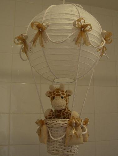 Nursery lighting - hot air balloon