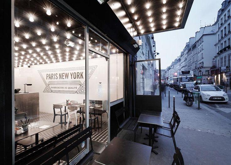 Paris New York, hamburger restaurant | 50, Rue du Faubourg Saint-Denis | Métro: Château d'Eau | Paris