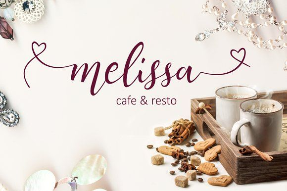Lovely Melissa by fontdroe on @creativemarket