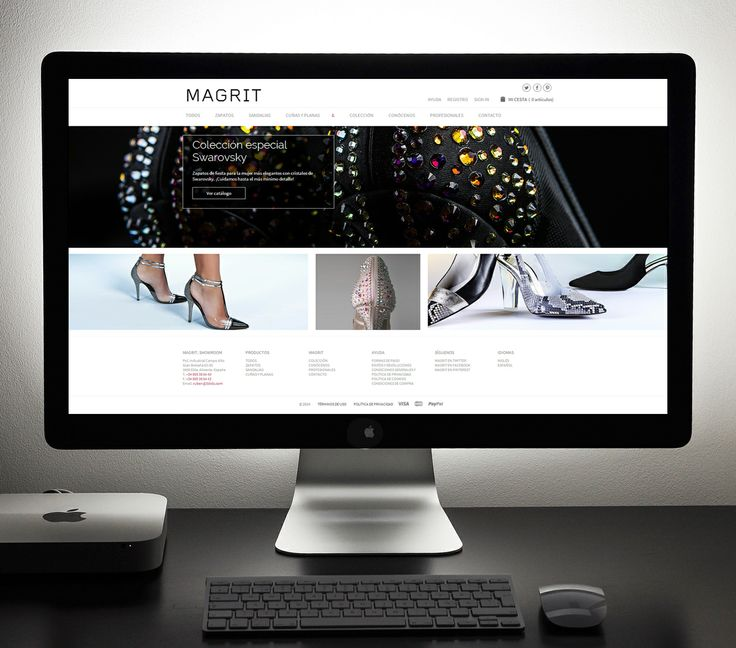 The new MAGRIT website has been made thinking about you, we want to make it an unforgettable experience, shoes are the stars, a simple, clean, intuitive web, adaptable to all your devices with a direct customer service in case you have any questions. You choose your shoes and within days, we send them wherever you want, you try them at home and create your outfits, and if you need another size or want to change the style, there is no problem, and no any cost for you.