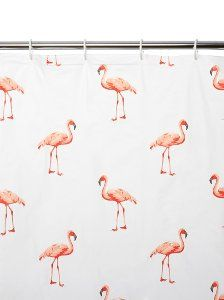 Buy George Home Flamingo Shower Curtain from our Bathroom Accessories range today from ASDA Direct.
